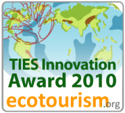 TIES Innovation Award 2010 ecotourism.org