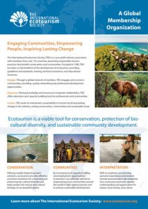 TIES Overview - The International Ecotourism Society